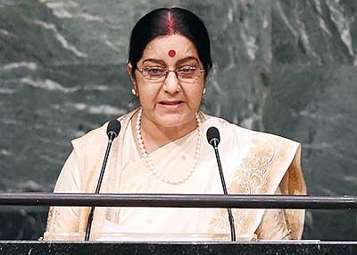 Indian diaspora condoles Sushma Swaraj's demise