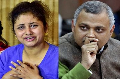 Somnath Bharti 'suppressed' info in affidavits, claims his wife