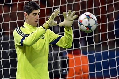 Chelsea's Thibaut Courtois hopes to return to action in December