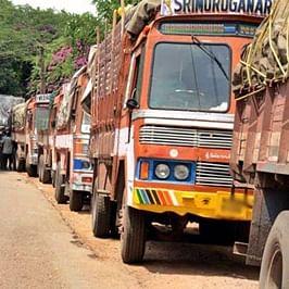 Madhya Pradesh: Truckers' three-day strike against diesel price hike from Monday
