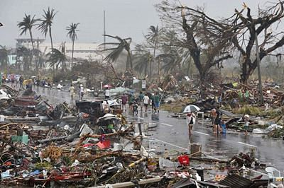 New storm approaches Philippines after typhoon kills 20