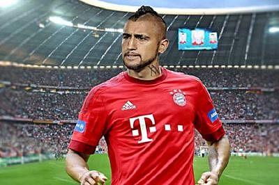 Bayern midfielder Vidal could play against Dortmund