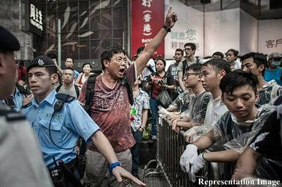 Hong Kong protesters back for pre-trial hearing