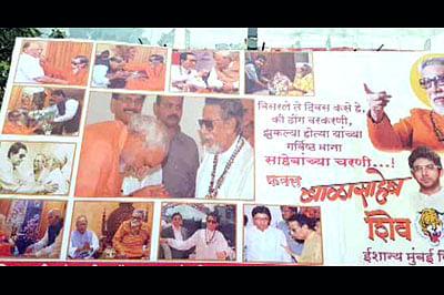Sena backs off after poster has dig at PMModi