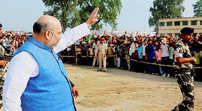 Lalu-Nitish formed alliance with Sonia for 'power': Shah