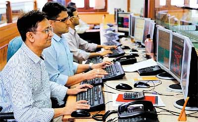 Stock market indices open weaker 1% down amid negative global cues