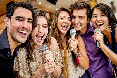 Singing together can help you bond quickly