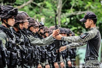 DNA samples sought of over Thai 100 policemen