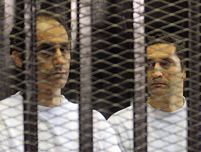 Egyptian court orders release of 2 Mubarak sons from prison