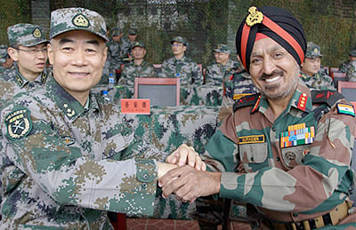 China, India start military drills to boost defence ties