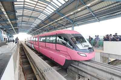 Trial runs of Monorail Phase II to start in Feb