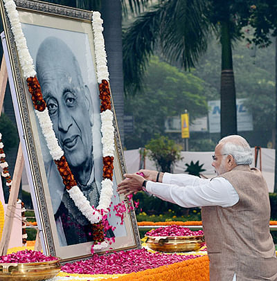 PM Modi pays tributes to Sardar Patel on his 69th death anniversary