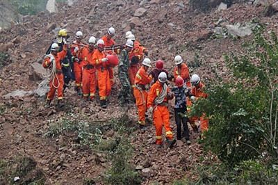 Death toll in China's landslide climbs to 25