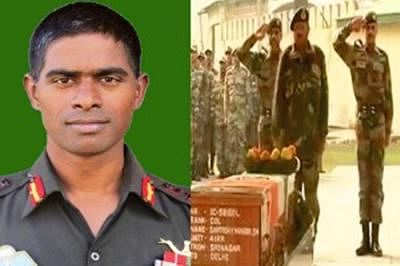 Last salute to Colonel Mahadik who died battling terrorists