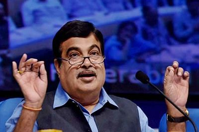 Congress doing vote bank politics, trying to fear public: Gadkari