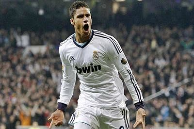 Real Madrid's Varane out for three weeks