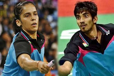Saina Nehwal, K Srikanth look for an encore at China Open