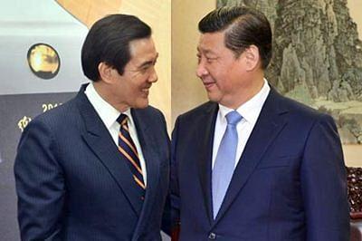 Chinese, Taiwanese leaders begin historic summit