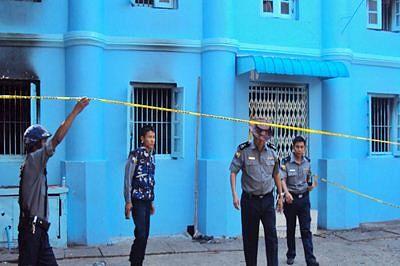Myanmar places Yangon under high security alert