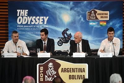 Dakar Rally to be held in Bolivia for third time