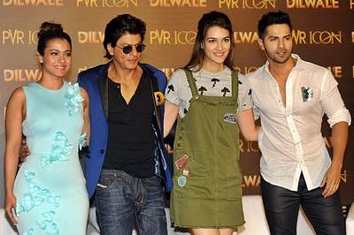 Movie Review Dilwale Srk Wows In This Formulaic Saga