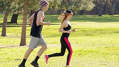 Jogging helps you stay sharp