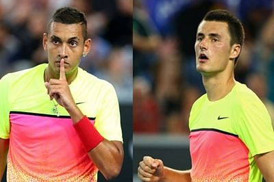 Kyrgios, Tomic ignored for Newcombe Medal