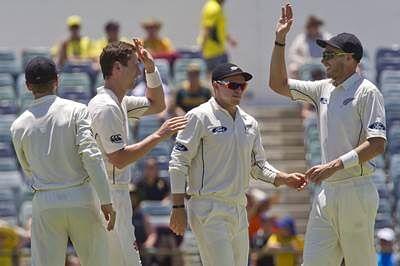 Kiwis remove David Warner, but Australia dominant