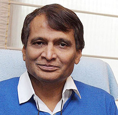 Suresh Prabhu lays foundation for 2 new projects on Konkan Railways