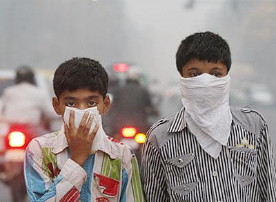 Delhi's pollution at 'alarming' levels even before Diwali