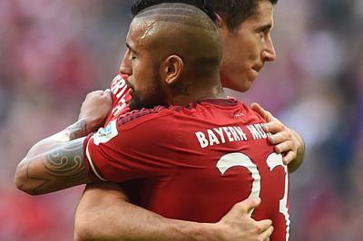 Relentless Bayern marchon, Wolfsburg drop points