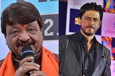BJP leader Kailash Vijayvargiya calls Shah Rukh Khan desh drohi