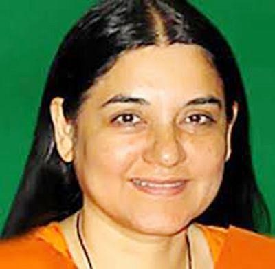 Release of juvenile convict:  Maneka blames Rajya Sabha