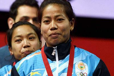 Sanjita, Ramana'lift' gold medals