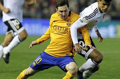 Barca held at Valencia