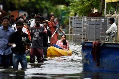 China offered aid for Tamil Nadu flood victims