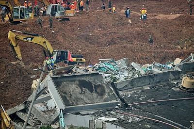 76 still missing in China landslide