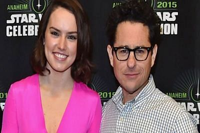 JJ Abrams almost made me cry: Daisy Ridley