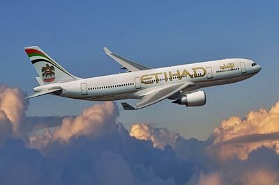 Etihad Airways stops flights from India to UAE 'till further notice'