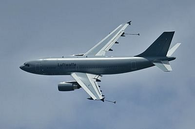 German airforce runs first refuelling mission over Syria