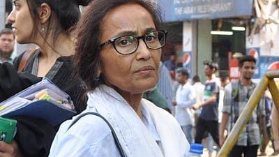 Mumbai: Rabia Khan Mother of Jiah khan, arrival at CBI Court in Mumbai on Friday.