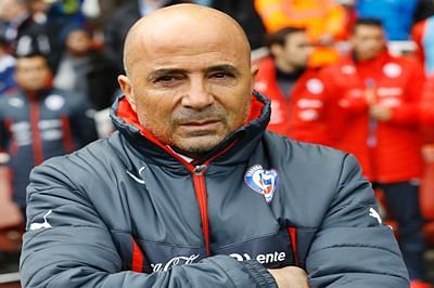 Chile's Sampaoli proud to earn FIFA coach nomination