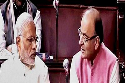 PM Modi 'politically forced' to support Jaitley: Congress