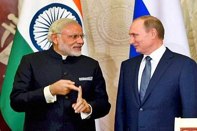 Prime Minister Modi greets Putin on his birthday
