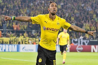 Borussia Dortmund's Aubameyang leads Europe's goal scorers