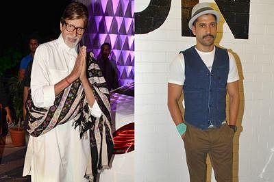 Amitabh Bachchan, Farhan Akhtar sing a special song for Wazir