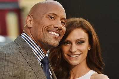 Dwayne Johnson says 'I do' to long-time girlfriend Lauren Hashian