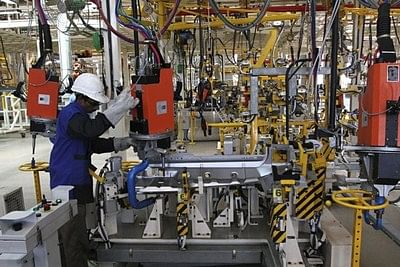 India's factory output rises sharply by 9.8 percent in October