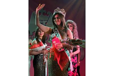 Iraq holds its first beauty pageant in four decades