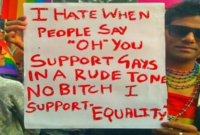 Gay pride should be national pride